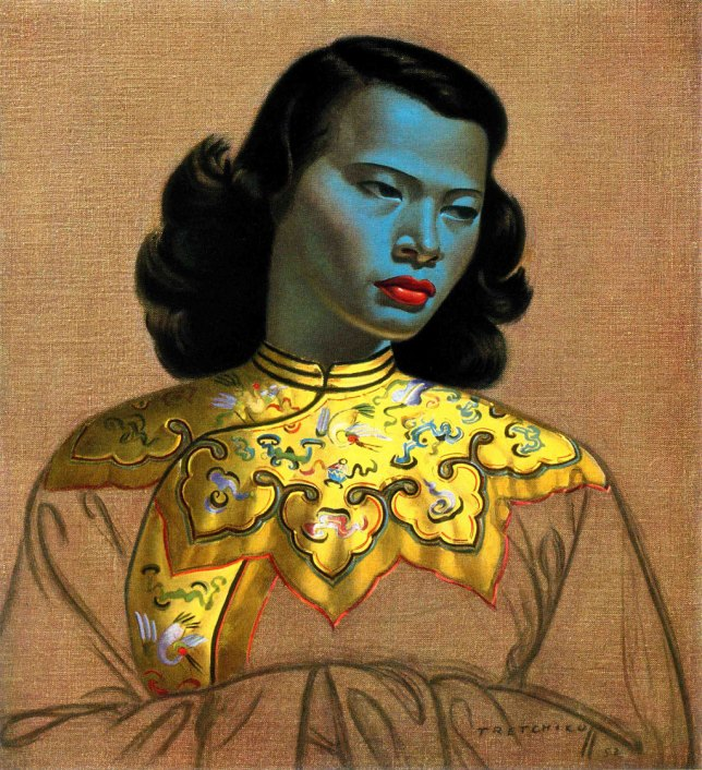 Vladimir Tretchikoff: The Chinese Girl